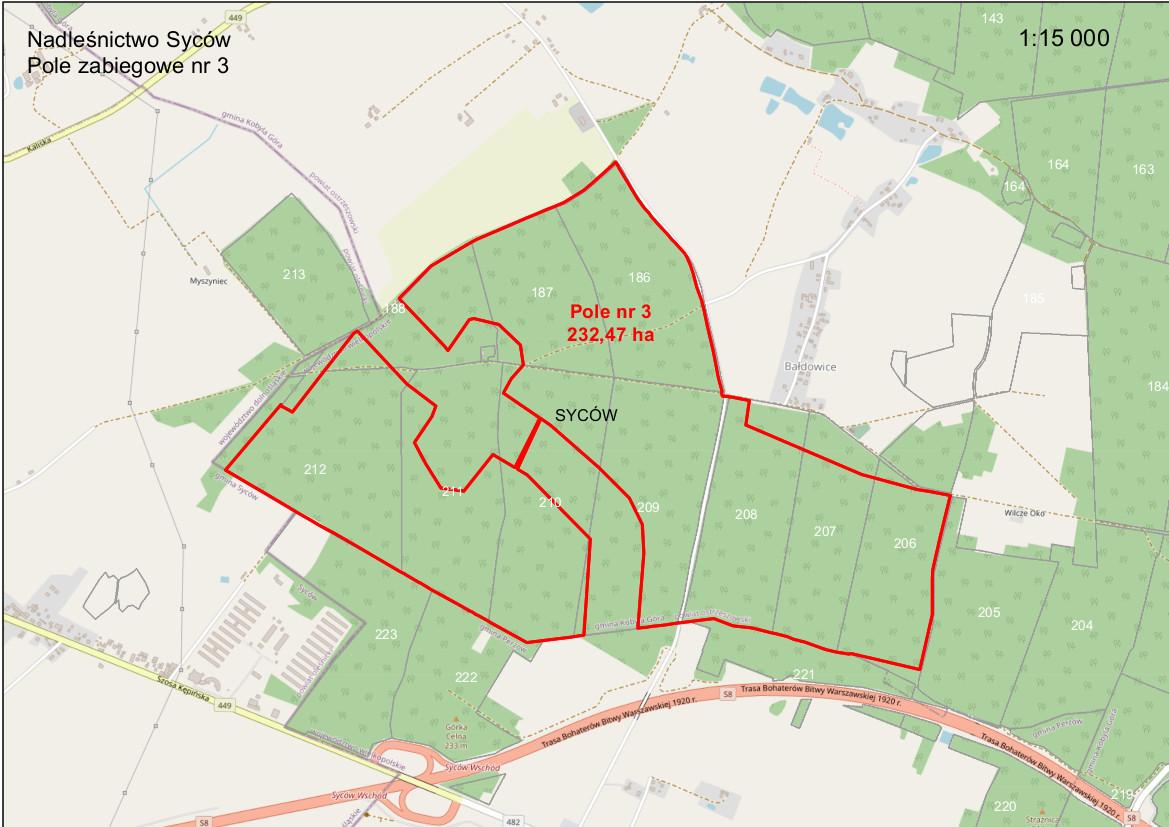 Mapa oprysków 2021