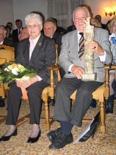 Kurt Heinzler z żoną