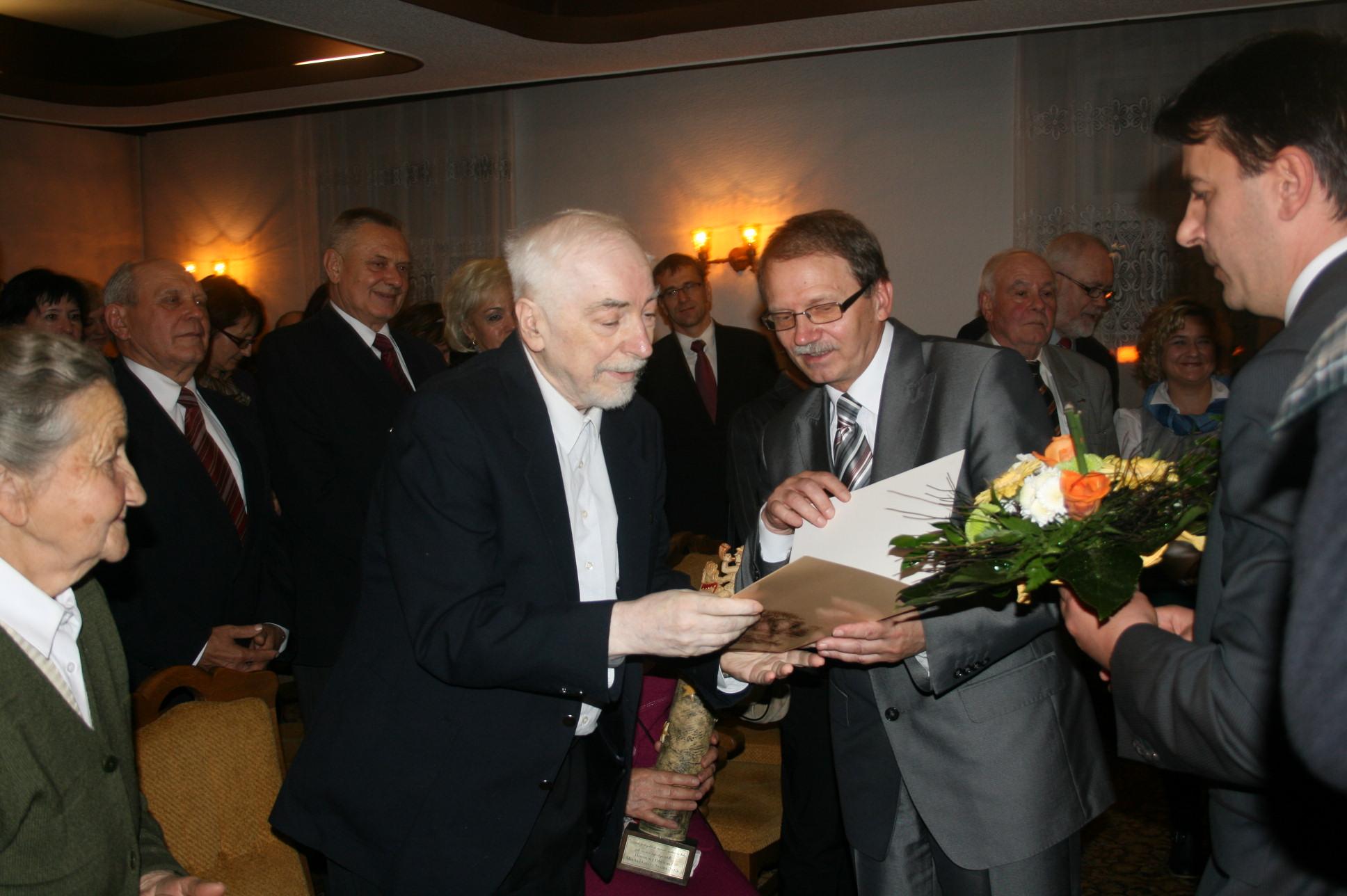 Krzysztof Zielnica wręczenie tytułu