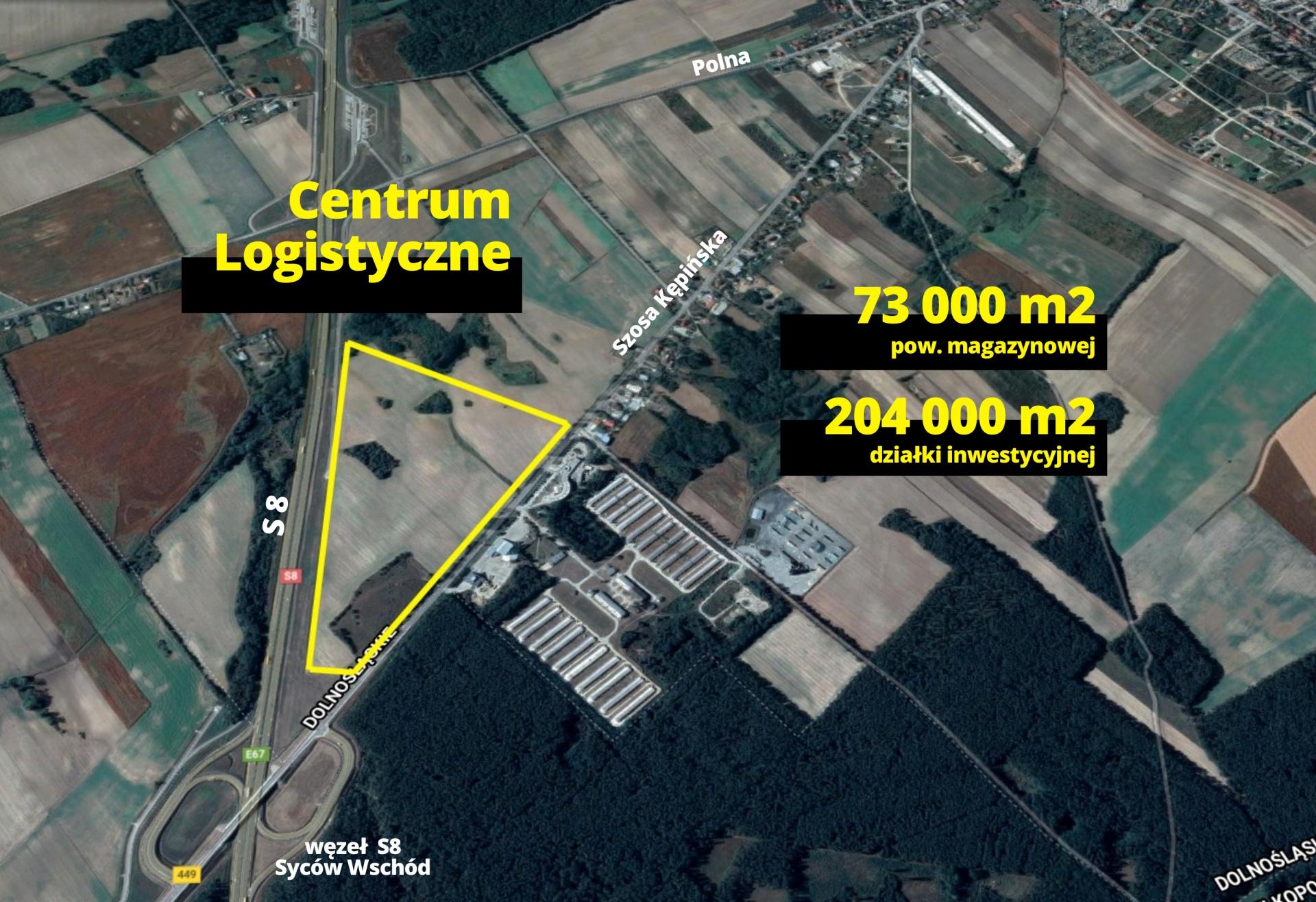 Nowe centrum logistyczne to ogromna inwestycja