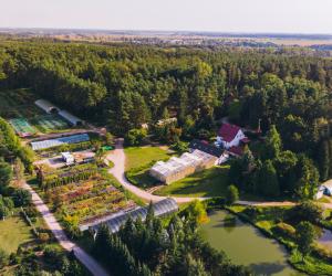 Arboretum leśne w Stradomi