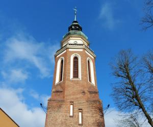 Dzwonnica kościelna, punkt widokowy